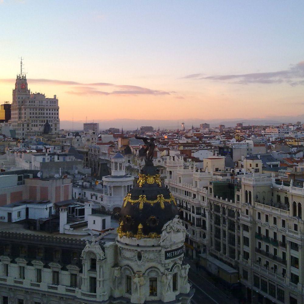 Panorámica de Madrid